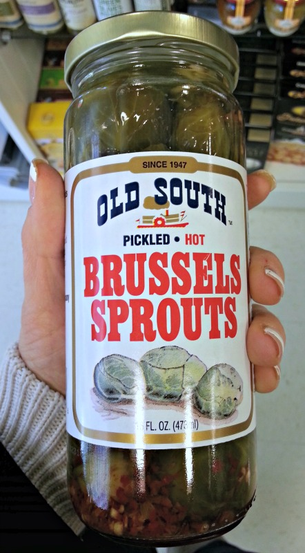 Old South Pickled Hot Brussels Sprouts