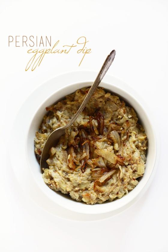 Persian Eggplant Dip MinimalistBaker.com