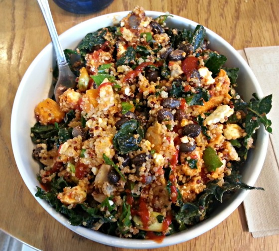 Kevins Quinoa Kale Butternut Squash Bowl Evolution Fresh