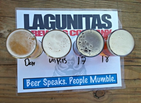 Lagunitas Brewing Company Beer Sampler