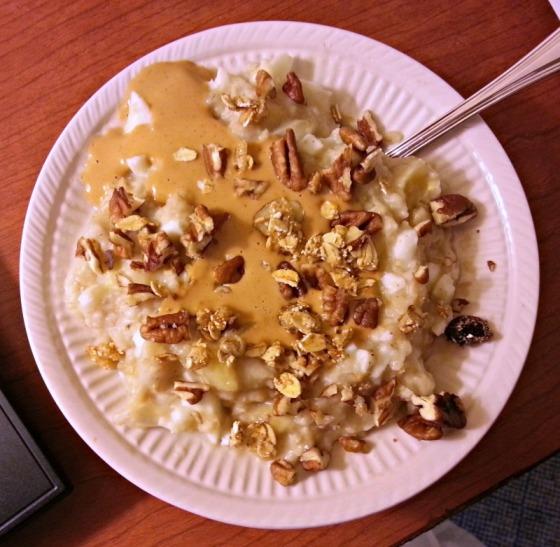 Oatmeal Granola Pecans TruNut