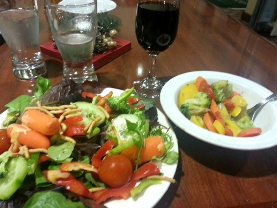 Salad Bar Red Wine