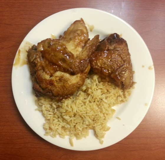 Teriyaki Chicken Rice Pilaf