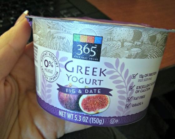 Whole Foods 365 Fig Date Greek Yogurt