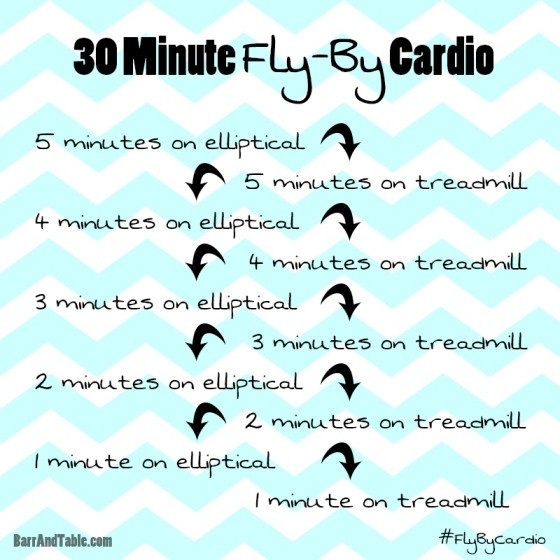30-Minute Fly-By Cardio