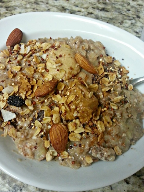 Banana Cinnamon Raisin Oatmeal A Loving Spoon Peanut Butter Coconut Cashew Butter Crunchy Quinoa Granola Iowa Girl Eats