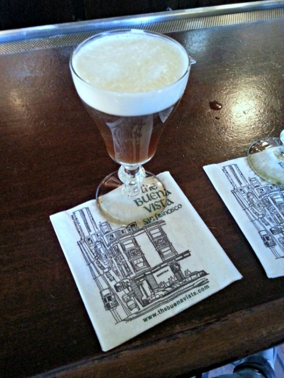 Buena Vista Cafe Irish Coffee