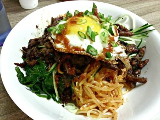 Bulgogi Korean BBQ Rice Bowl HRD Coffee Shop