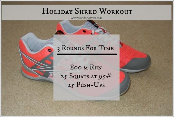 A Sweaty Post Holiday Workout Blonde Ponytail