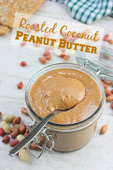 Roasted Coconut Peanut Butter Peachy Palate