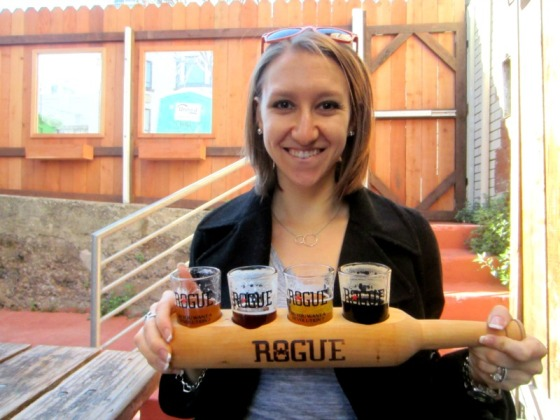 Rogue Ale House Sampler