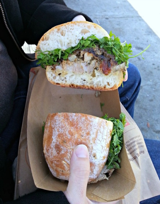 RoliRoti Porchetta Sandwich San Francisco