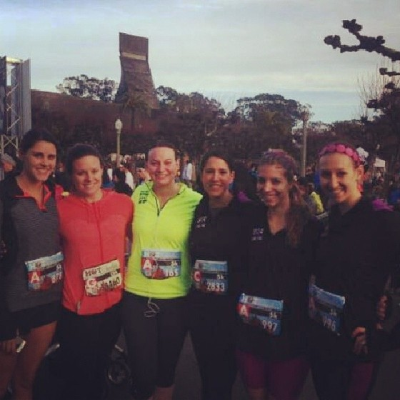 San Francisco Tone It Up TIU Hot Chocolate 5K