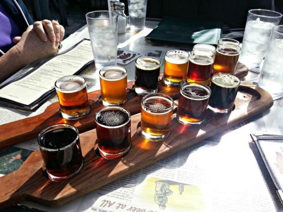 Bear Republic Beer Sampler