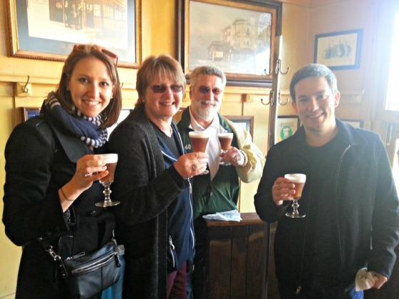 Buena Vista Cafe Irish Coffee Cheers