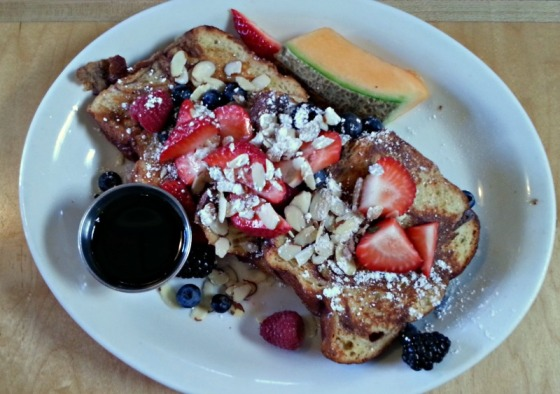 Challah French Toast Tomate Cafe
