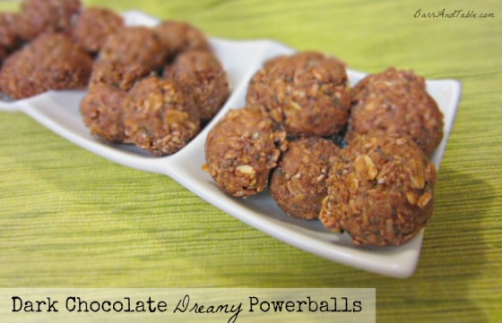 Dark Chocolate Dreamy Powerballs
