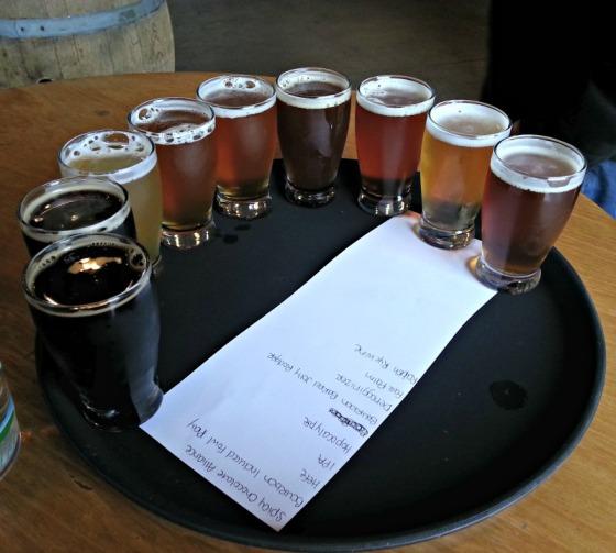 Drakes Brewery Sampler
