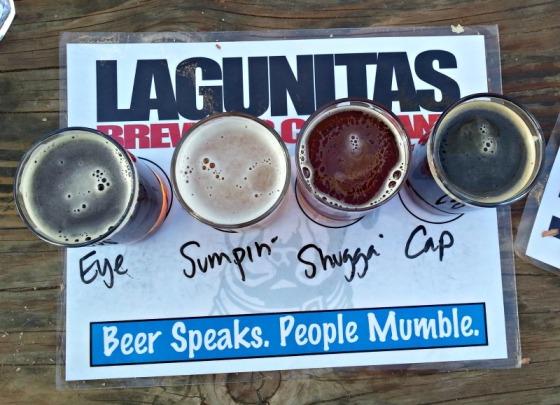 Lagunitas Beer Sampler