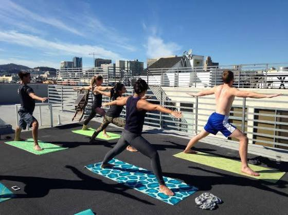 Sweat Guru Rooftop Yoga