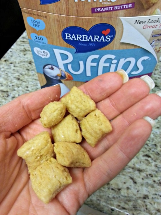 Barbaras Peanut Butter Puffins