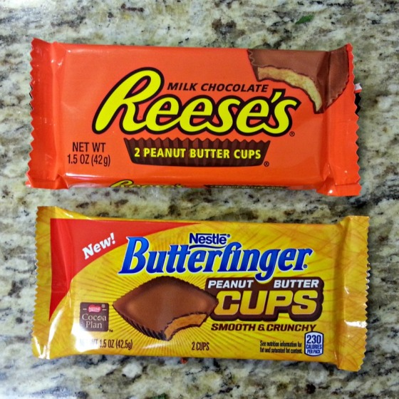 Reeses Butterfinger Peanut Butter Cups