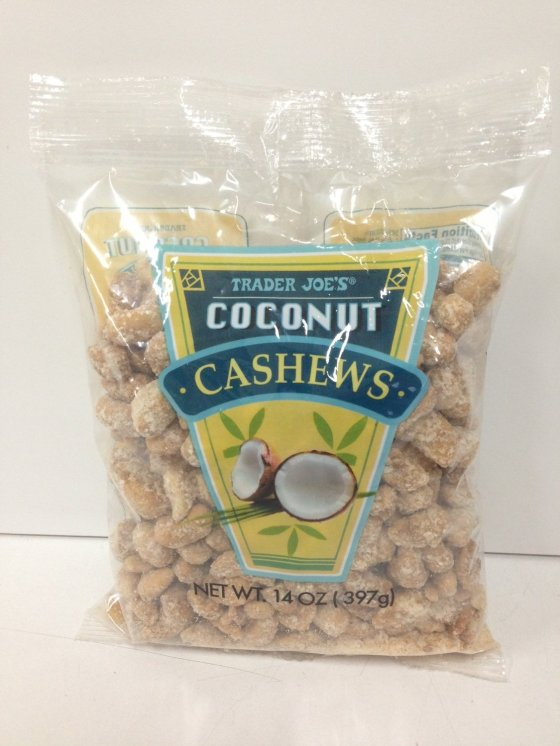Trader Joes Coconut Cashews
