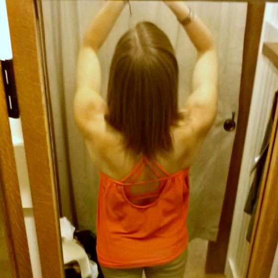 Athleta Workout Top Back