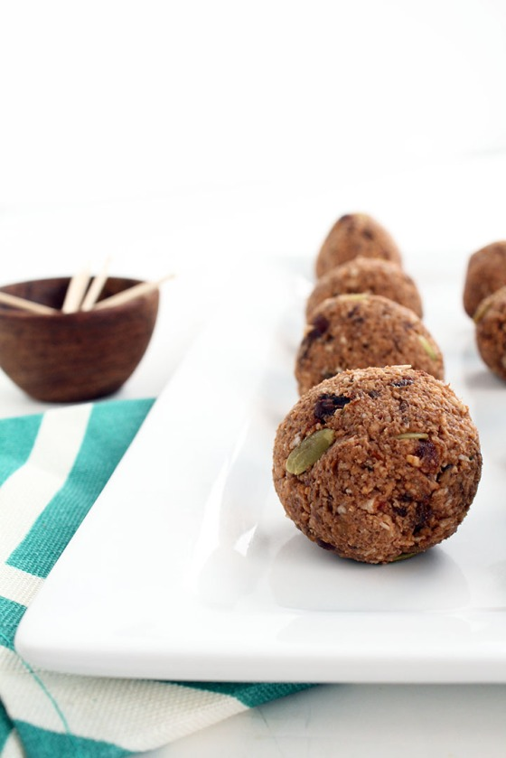 Cacao Coconut Plantain Rice Balls with Pepitas Inspiralized