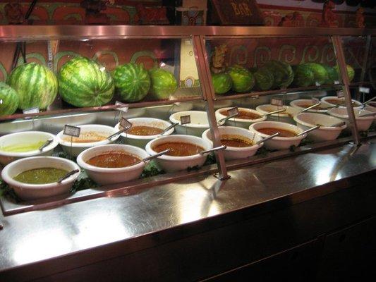 Cancun Salsa Bar