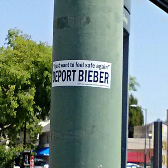 Deport Bieber
