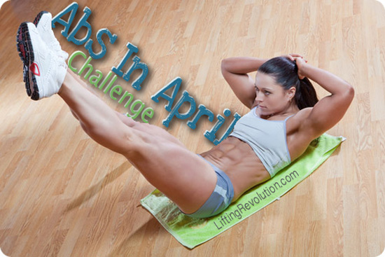 Lifting Revolution Abs in April Challenge