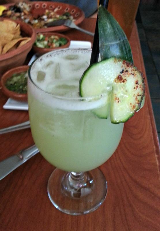 Los Moles Cucumber Margarita