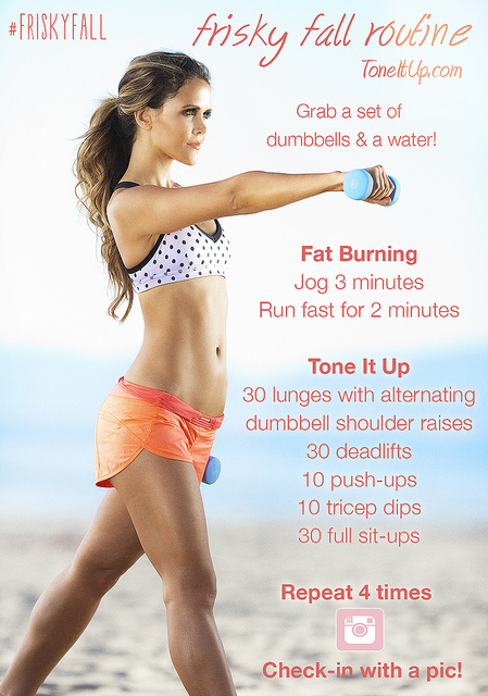 Tone It Up TIU Frisky Fall Cardio