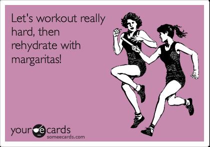 Workout Margaritas
