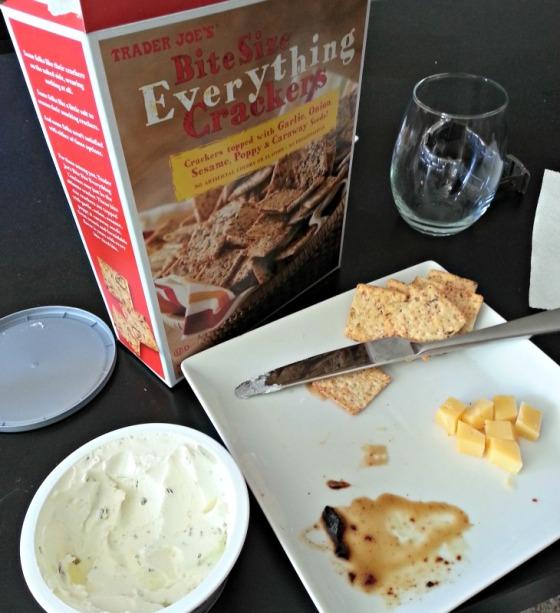Cheese Crackers Wine