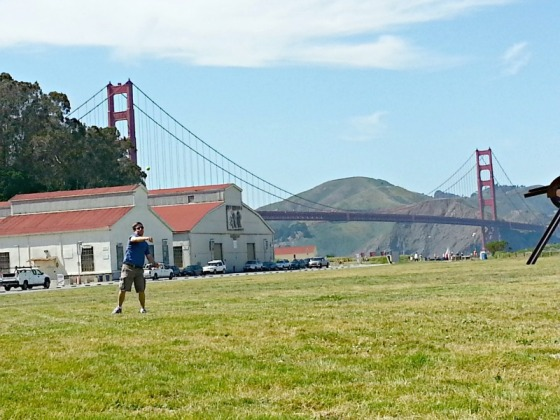 Crissy Field San Francisco Golden Gate Bridge