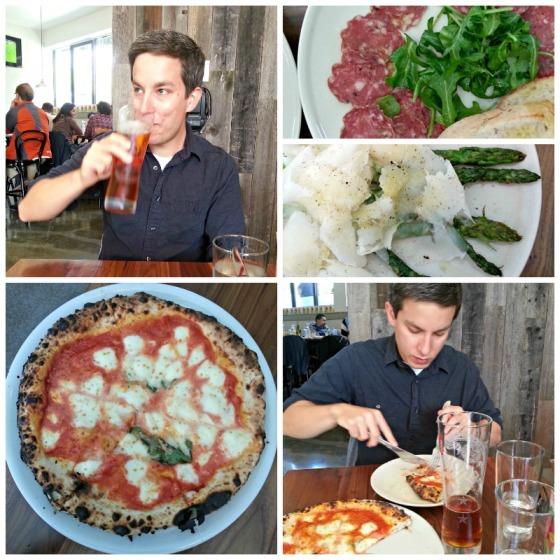 Il Casaro Margherita Pizza Wild Boar Salami Asparagus Raspa Dura