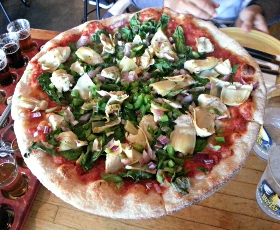 Megans Vegan Pizza Russian River