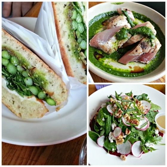 Naked Lunch Asparagus Ahi Tuna Pesto Beets Salad