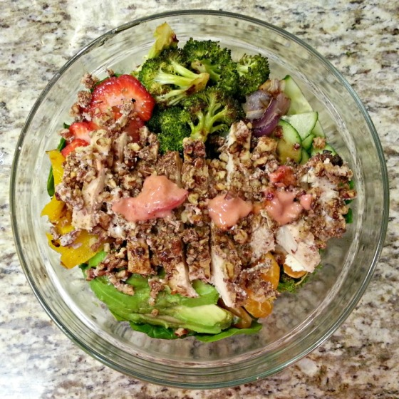 Pecan Crusted Chicken Salad How Sweet It Is