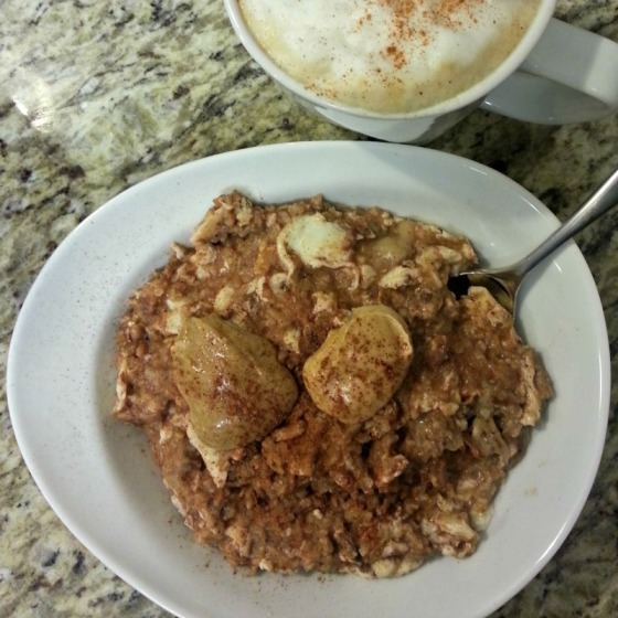 Protein Steel Cut Oatmeal Coconut Cashew Chia Peanut Butter