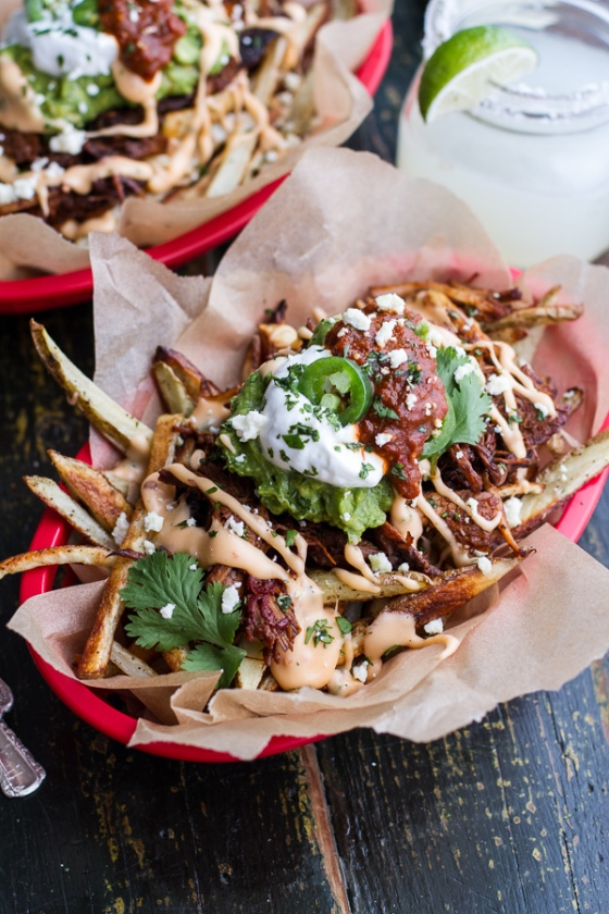 Tijuana Street Fries Half Baked Harvest