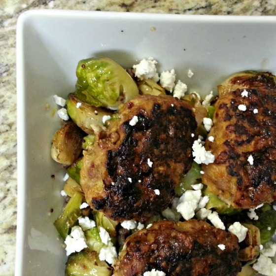 Baked Turkey Meatballs Joy the Baker Brussels Sprouts