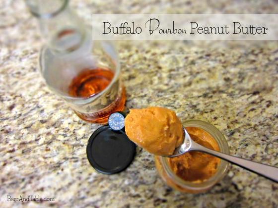 Buffalo Trace Bourbon Peanut Butter