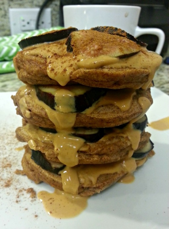Coconut Protein Pancakes PB Lean Figs