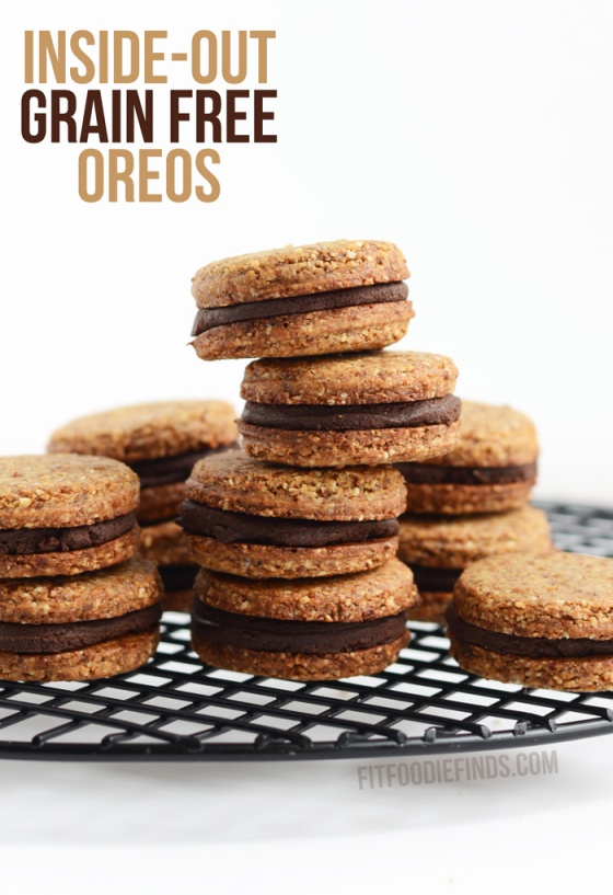 Inside Out Grain Free Oreos Fit Foodie Finds