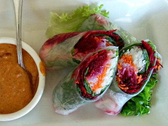 Jasmine Thai Fresh Roll Peanut Sauce