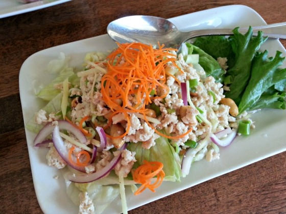 Jasmine Thai Ginger Chicken Salad