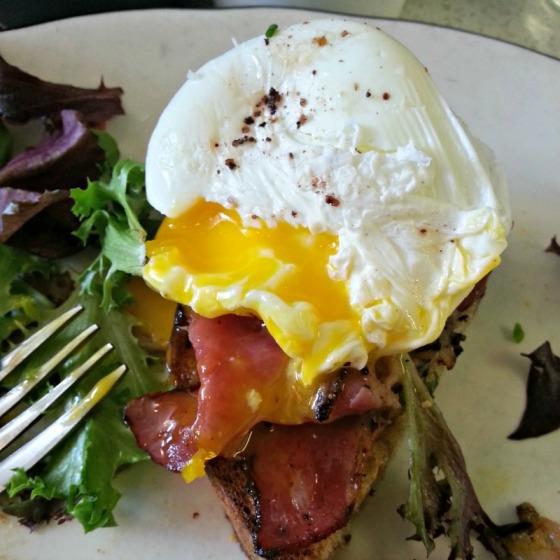 Pastrami Eggs Benedict